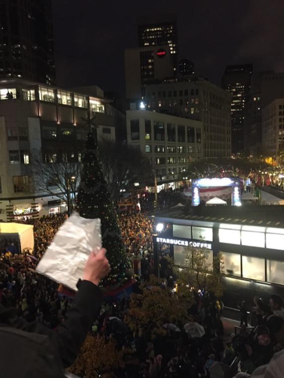 Big rally in Seattle