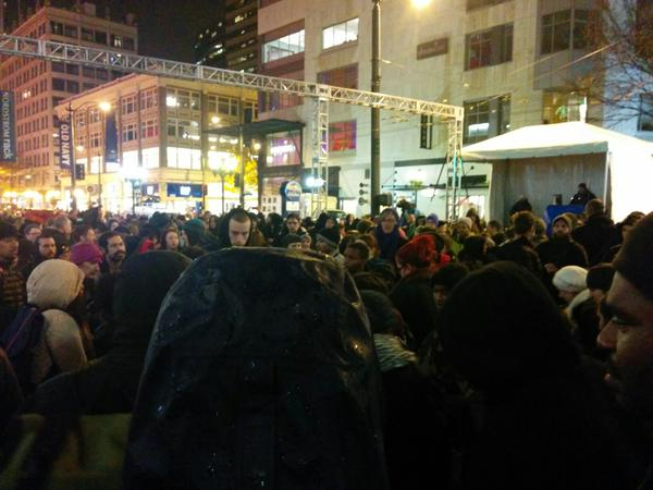 All speeches canceled at Westlake mall in Seattle