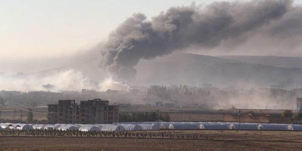 VBIED exploded in Kobani