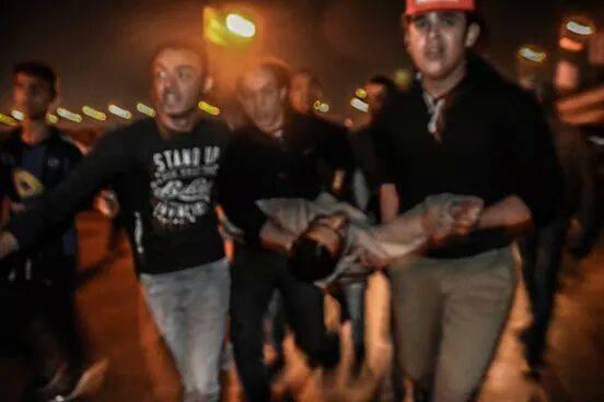 Mohamed Amer is dead tonight. Tahrir