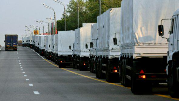 One more Russian Humanitarian convoy enters Ukraine