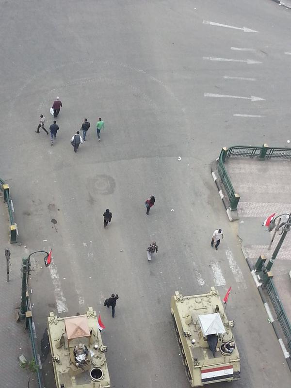 After the checks on  Tahrir