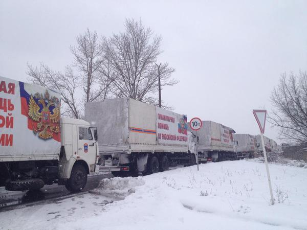 Yet another Convoy of War Aid enters Donetsk