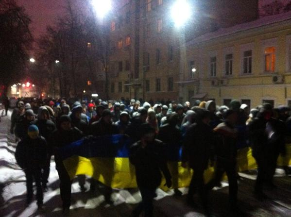 Kharkiv. Marsh moves to the Consulate of the Russian Federation