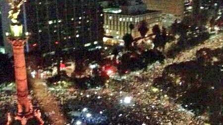 Protest in Mexico