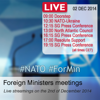 Ukraine-NATO Foreign Ministers Meeting at 11:30 Kyiv time