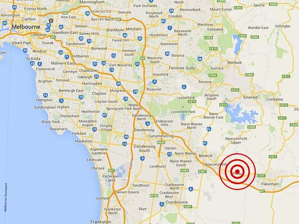 Earthquake that rattled Melbourne's east was largest tremor to hit area in 50 yrs