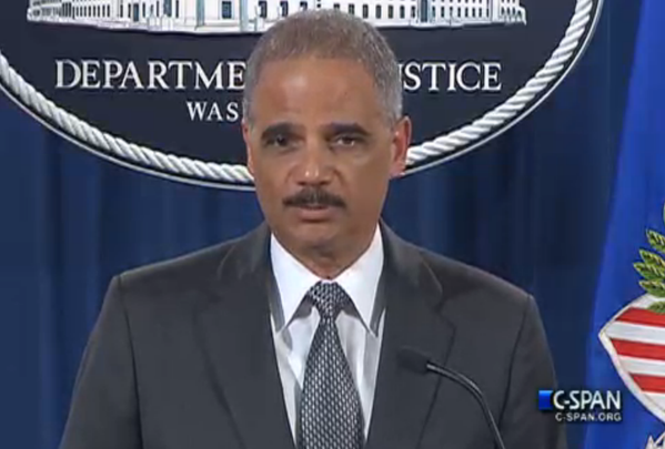 AG Eric Holder: The Justice Dept will proceed with a federal civil rights investigation into Mr. Garners death