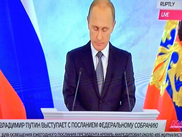 Putin online