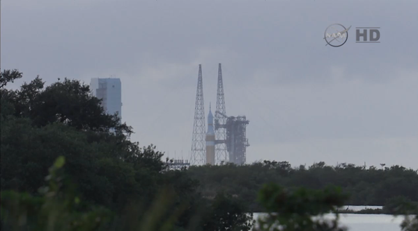 Update on @NASA_Orion launch: New liftoff time approved for 7:55 a.m. ET.