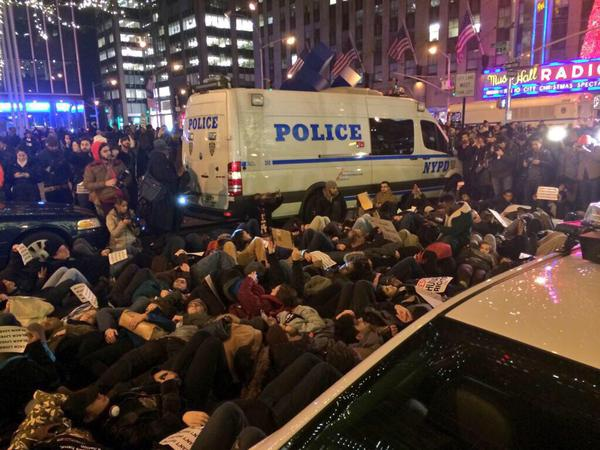 NYPD Arrested More Than 83 Protesters Last Night EricGarner