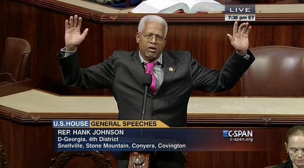 Dem Rep. Recites 'I Can't Breathe' Poem for EricGarner on House Floor