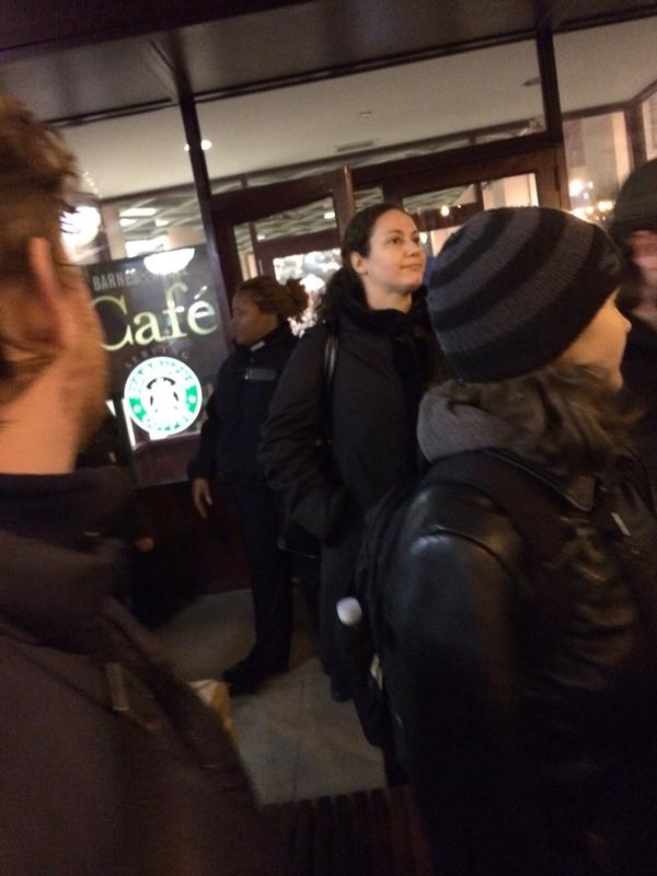 The CPD out here protecting Starbucks EricGarner