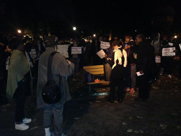 Protest starting on MooreSquare for EricGarner