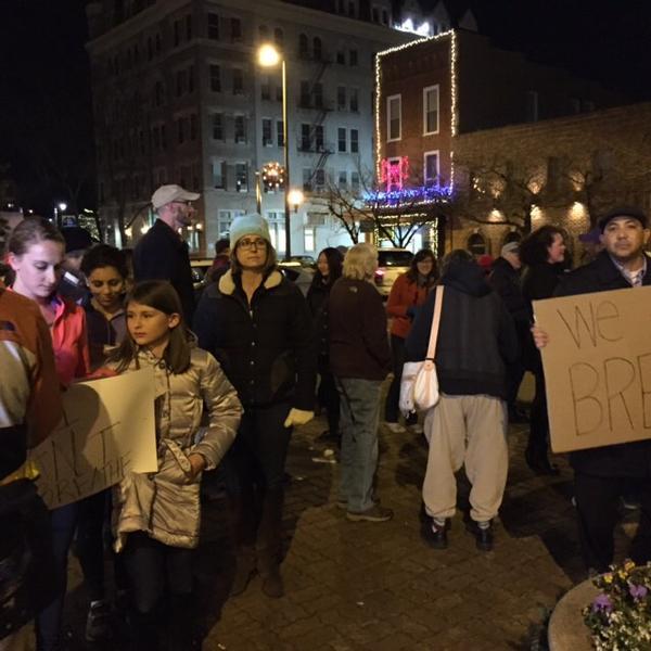 Happening now in Harrisonburg! Protest for EricGarner