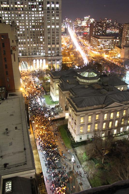 Here is what Chambers St. looks light right now. EricGarner