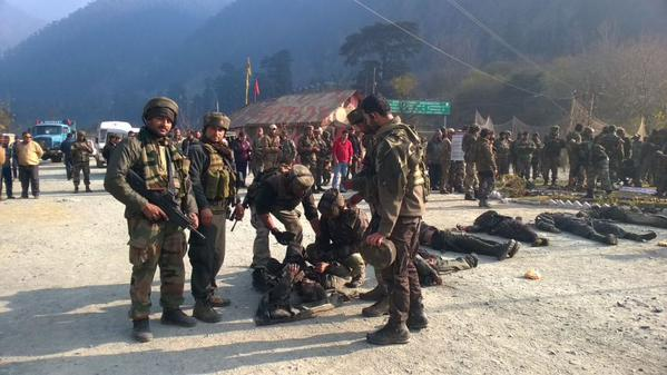 The 6 militants killed today in the Mahura Camp attack in Uri sector.