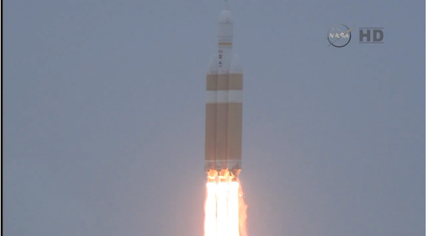 Orion has lift off