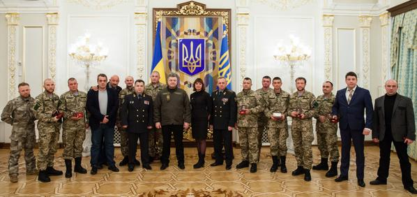 Poroshenko: The words cyborg, ukrop have become symbols of the Ukrainian spirit's invincibility and combat capability.