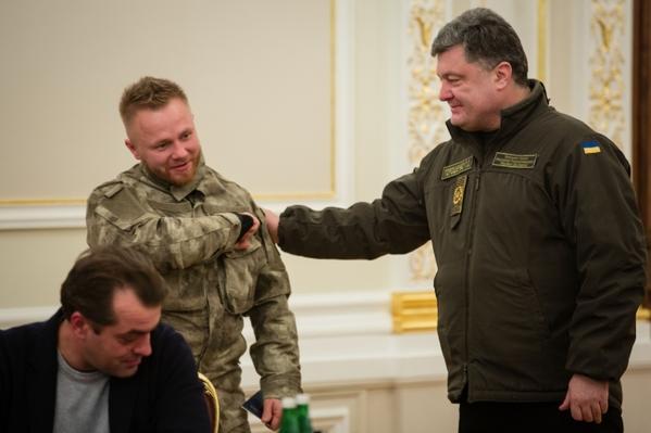 Poroshenko issued the passport of Ukraine to Belarusian Sergey Short