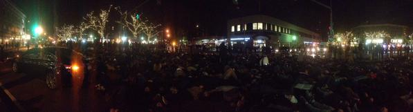 As of 5pm Davis Sq. near Boston is completely shutdown by Tufts students