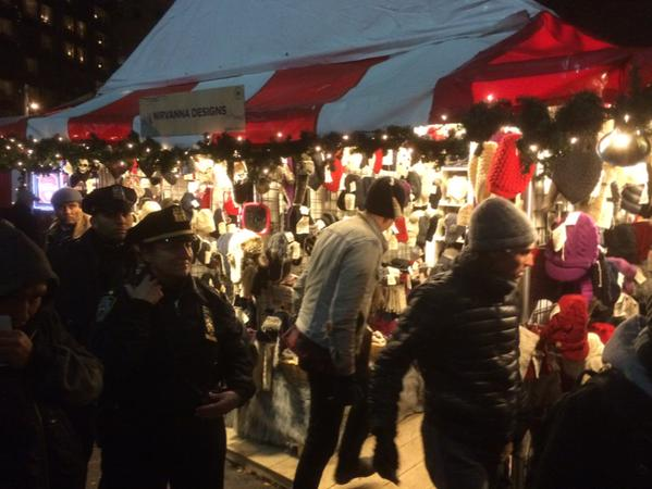 NYPD telling holiday market booth owners they'd best shut down to be safe