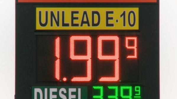 Gas drops below $2 a gallon in some states