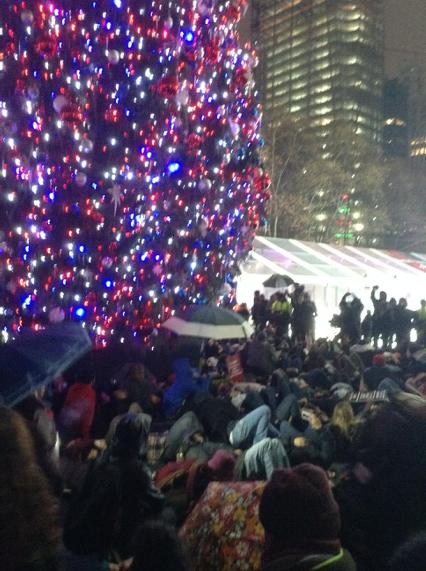 Die in at Bryant Park - ericgarner icantbreathe