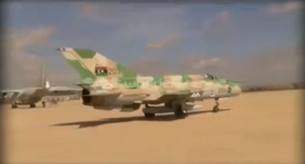 Libya: New video shows off pro-Tobruk forces' air prowess