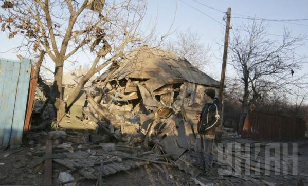 Militants in the morning shelled Debaltseve, one military was killed