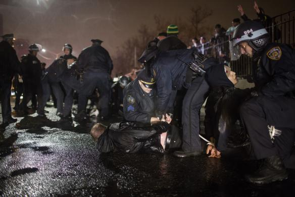 20 Arrested As Protests Against Police Violence Block Traffic In New York FTP EricGarner