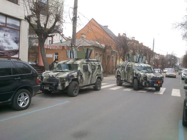 National Guard in Vinnitsa