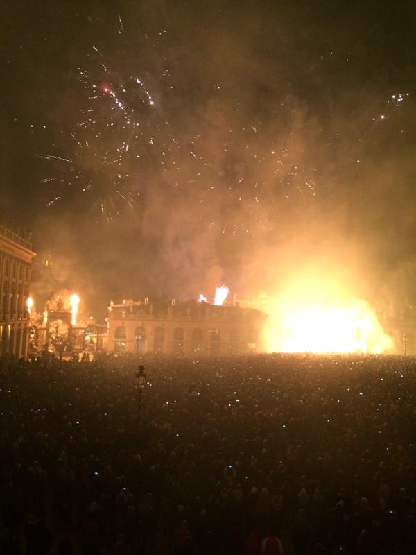 The place Stanislas is set on fire saint nicholas anyway