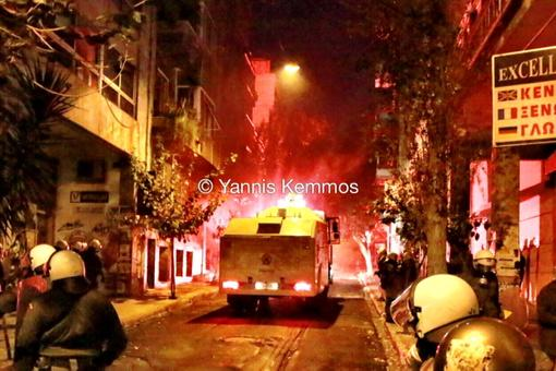 Clashes in Greece