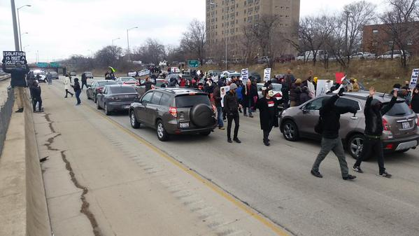 Chicago 290 & Central Pk right now ICantBreathe