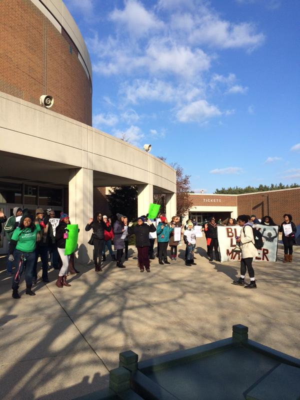 Rally at Michigan State University