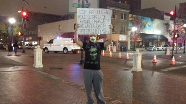 Jacksonville FL protests for EricGarner Ferguson