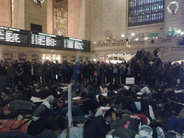 Grand Central Terminal EricGarner ICantBreathe