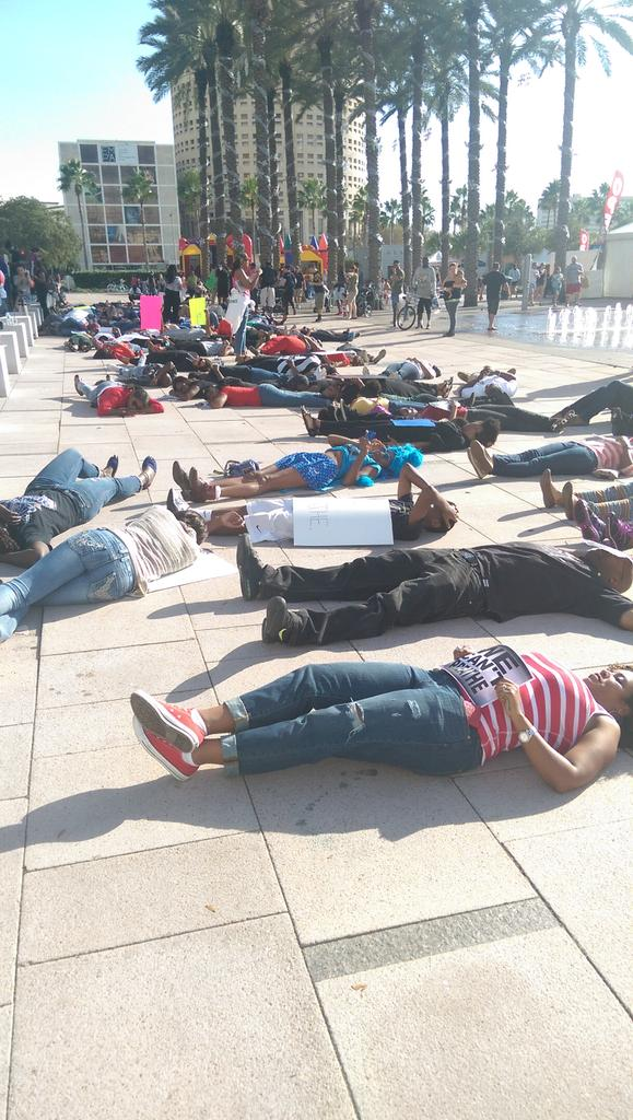 Die In happening in Tampa, FL right now. EricGarner