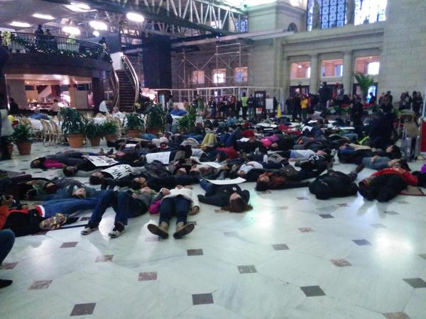Die in at Union Station Washington, DC