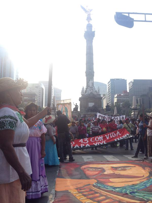 Rally in Mexico