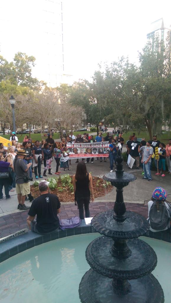 Protest in St. Petersburg, FL
