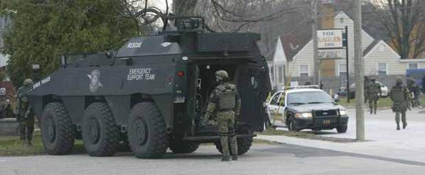 SWAT in little town of Muskegon