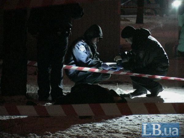 In Kyiv found a body of unknown man