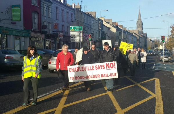 BallyheaSaysNo week197 this chilly but sunny morning; heading to Dublin on Wed supporting dec10 irishwater.