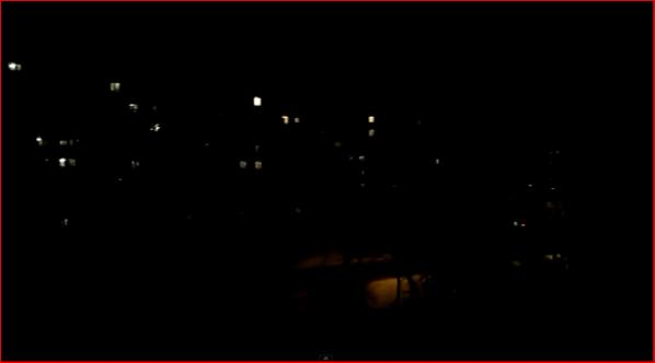 The sound of artillery fire being heard in Donetsk Kyivs'kyi District tonight