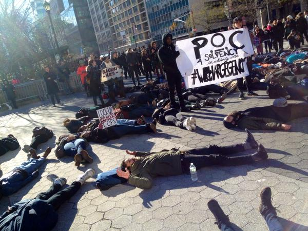 Die in at Union Sq NYC now