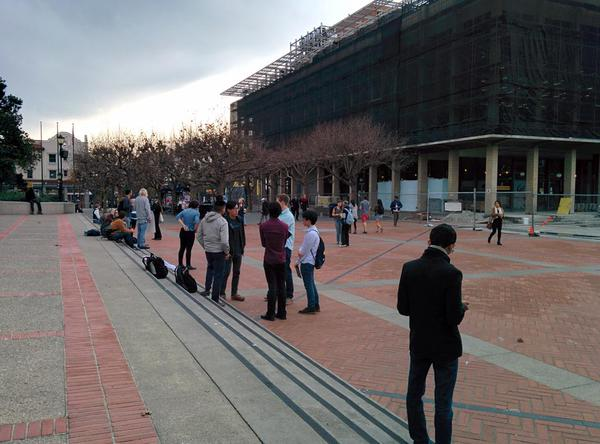 If there was supposed to be a berkeleyprotests rally at Sproul right now, this is it