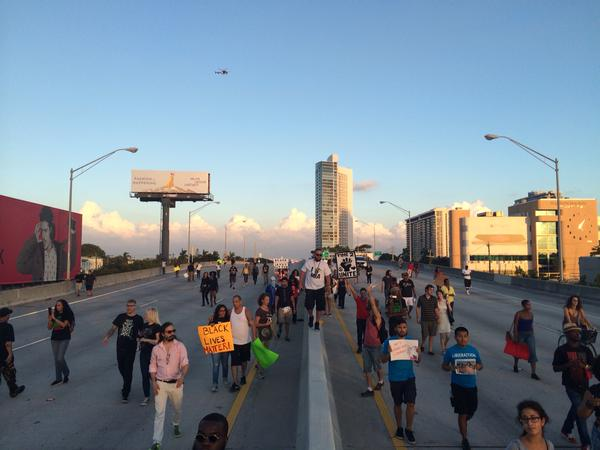 Shutitdown at North Miami Ave