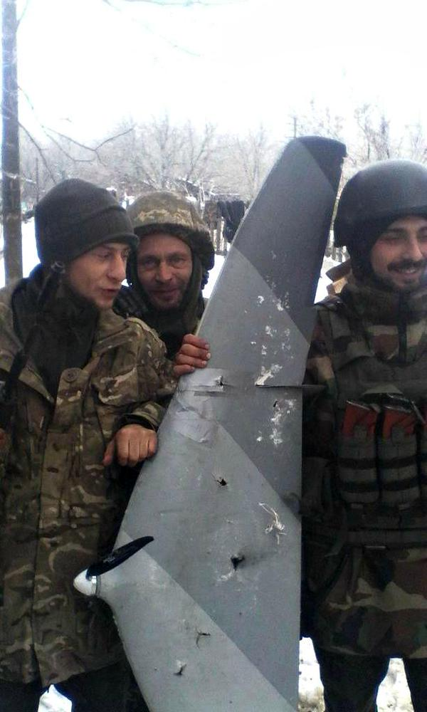 Ukraine troops near Donetsk Airport shot down Russia Tachyon recon drone the second such